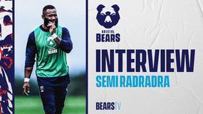 Radradra relishing Bears return