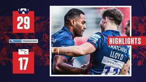 Highlights: Bristol Bears 29-17 Newcastle Falcons