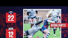 Highlights: Bristol Bears Women 22-12 Sale Sharks Women