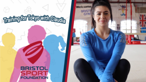 Training for Tokyo with Claudia Fragapane - Handstands