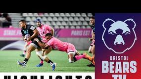 Highlights: Stade Francais vs Bristol Bears