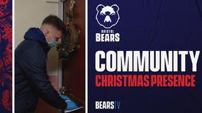 Bears support Foundation's Christmas Presence 2020