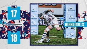 Highlights: Gloucester Rugby 17-18 Bristol Bears
