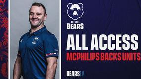 Bears All Access: Backs units session with Conor McPhillips