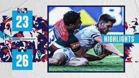 Highlights: Leicester Tigers 23-26 Bristol Bears