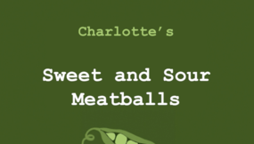 Sweet and Sour Meatballs!