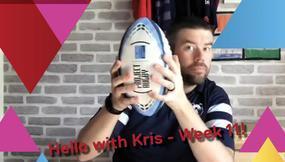 Hello with Kris - Week 11!
