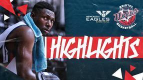 Highlights: Newcastle Eagles 72-64 Bristol Flyers