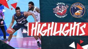 Highlights: Bristol Flyers 72-77 Worcester Wolves