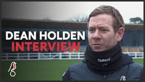 Holden looking for a response at Brentford