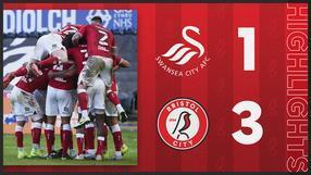 Swansea City 1-3 Bristol City