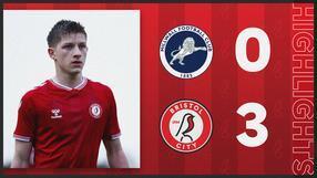 Millwall U18s 0-3 Bristol City U18s