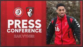 Zak Vyner press conference | Bristol City vs AFC Bournemouth