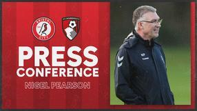 Nigel Pearson press conference | Bristol City vs AFC Bournemouth