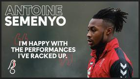 Semenyo discusses breakthrough season!