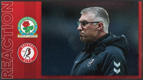 Pearson on Ewood Park draw
