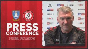 Nigel Pearson press conference | Sheffield Wednesday vs Bristol City
