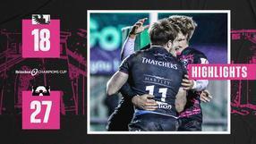 Highlights: Connacht 18-27 Bristol Bears