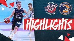 Highlights: Bristol Flyers 73-76 Worcester Wolves