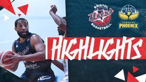 Highlights: Bristol Flyers 75-81 Cheshire Phoenix