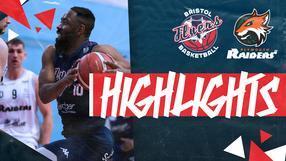 Highlights: Bristol Flyers 75-96 Plymouth Raiders