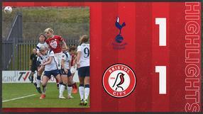 Highlights: Tottenham Hotspur 1-1 Bristol City Women