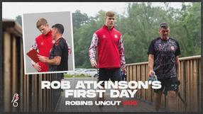 Rob Atkinson's first day   Robins Uncut 005