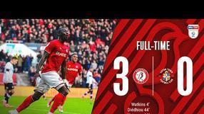 Highlights: 📺 Bristol City 3-0 Luton Town
