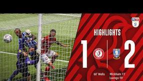 HIGHLIGHTS: Bristol City 1-2 Sheffield Wednesday