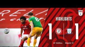 HIGHLIGHTS | Famara Diédhiou gets his 14th goal of the season | Bristol City 1-1 Preston North End