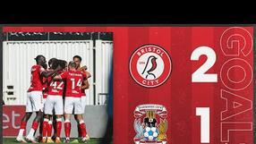 GOALS   Pato and Kalas on the scoresheet in City win!   Bristol City 2-1 Coventry City