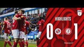 Robins secure third consecutive league win 🔥 Highlights: Reading 0-1 Bristol City
