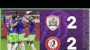 HIGHLIGHTS | Robins extend unbeaten run! | Barnsley 2-2 Bristol City