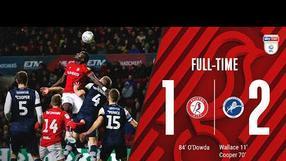 Highlights: 📺 Bristol City 1-2 Millwall