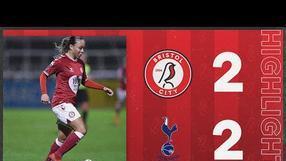 HIGHLIGHTS | Bristol City Women 2-2 Tottenham Hotspur