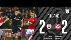 Highlights: 📺 Barnsley 2-2 Bristol City