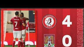 HIGHLIGHTS | Robins on fire at Ashton Gate! Bristol City 4-0  Northampton Town