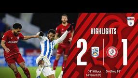 Highlights: Huddersfield Town 2-1 Bristol City