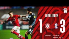 Highlights: Bristol City 1-3 Birmingham City