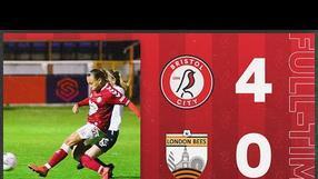 HIGHLIGHTS | Bristol City Women 4-0 London Bees