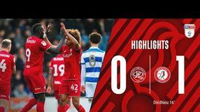 Diédhiou makes it four straight wins for the Robins 🔥 Highlights: QPR 0-1 Bristol City
