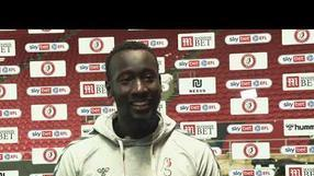 REACTION | Famara Diédhiou off the mark for the season | Bristol City 1-0 Derby County