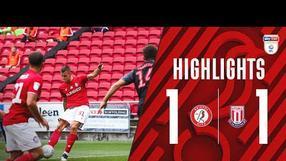 HIGHLIGHTS | Robins held to draw at Ashton Gate | Bristol City 1-1 Stoke City