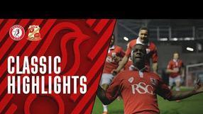 Classic Highlights: Bristol City 3-0 Swindon Town (7.4.15)