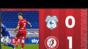 Martin scores after 96 seconds! | Cardiff City 0-1 Bristol City | Highlights