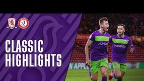 CLASSIC HIGHLIGHTS: Middlesbrough 0-1 Bristol City (2/4/19)
