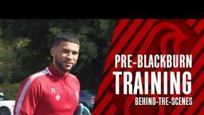 Bristol City prepare for Blackburn Rovers ⚽️ Behind-the-scenes
