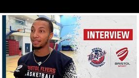 Gentrey Thomas' first interview with Bristol Flyers