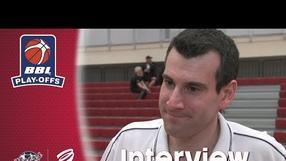 INTERVIEW: Kapoulas on first leg defeat to Newcastle Eagles - BBL Play-Offs