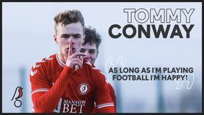 Tommy Conway amongst the goals for Young Robins!